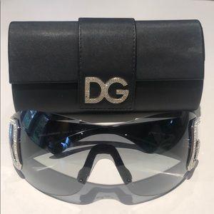 Dolce & Gabbana women's shield sunglasses DG893/S